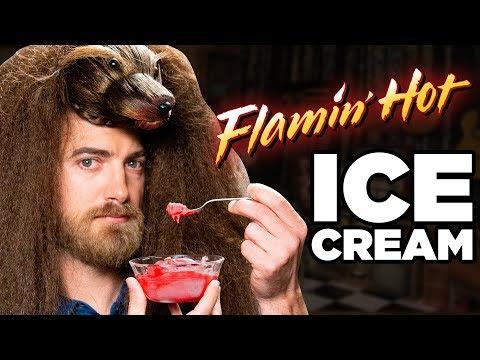 Flamin' Hot Ice Cream Taste Test