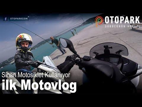 Sinan'la Motosiklete Başlamak | Trafiğe Çözüm ? | İlk Motovlog | Tricity 155 | Bölüm 4