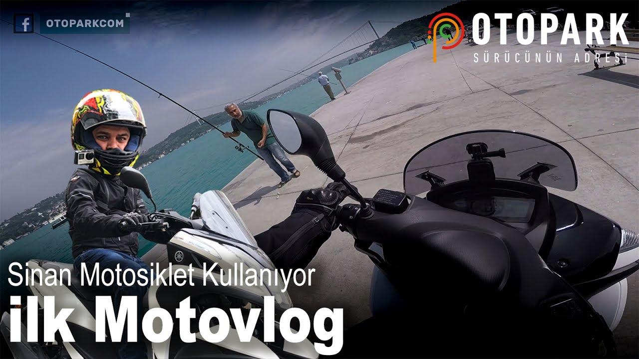 Sinan'la Motosiklete Başlamak   Trafiğe Çözüm ?   İlk Motovlog   Tricity 155   Bölüm 4