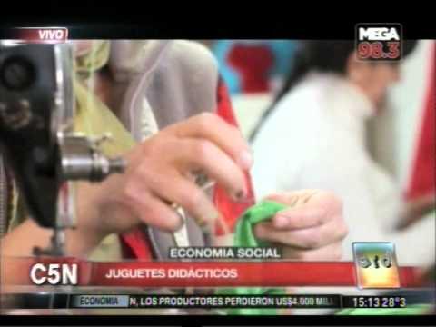 C5N - ECONOMIA SOCIAL: COOPERATIVA LA OVEJITA NEGRA