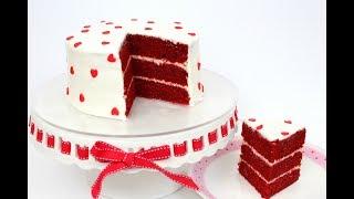 Best Red Velvet Cake | Eggless