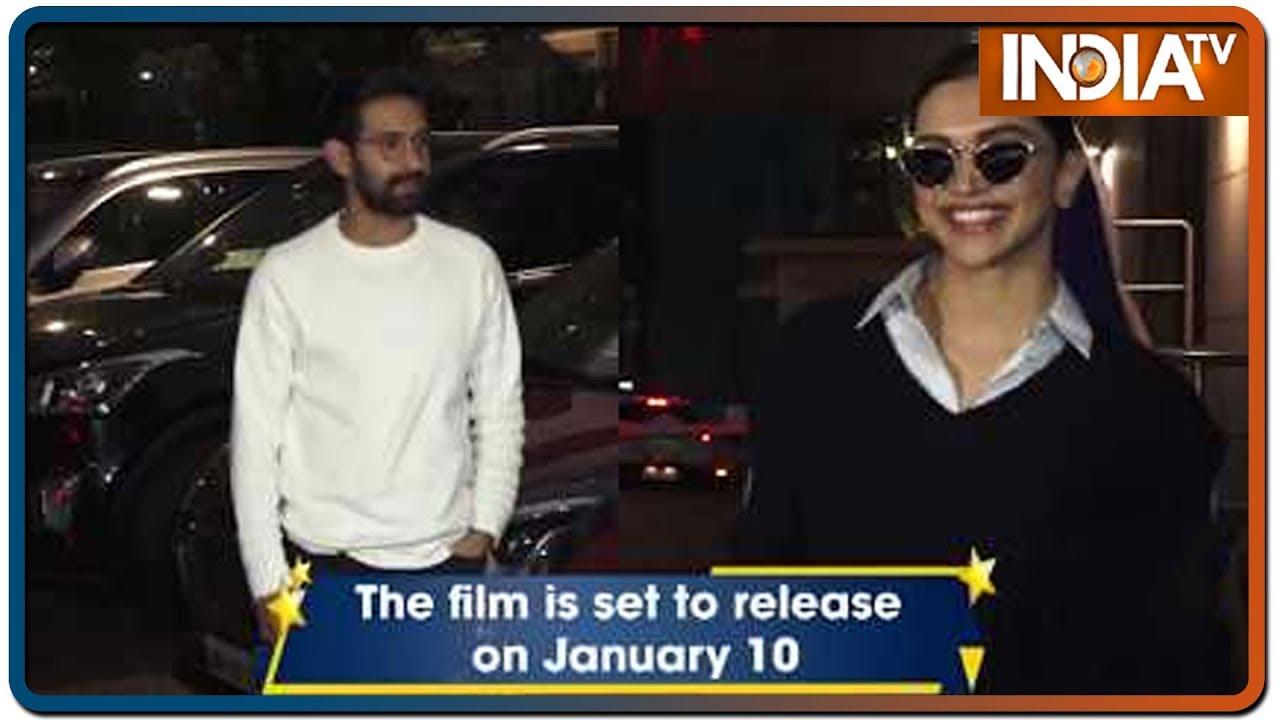 'Chhapaak' cast attend film screening | IndiaTV News - YouTube