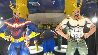 Emerald City Comic Con Reveal 3 of 3: My Hero Academia: All Might Action Figure Part 1