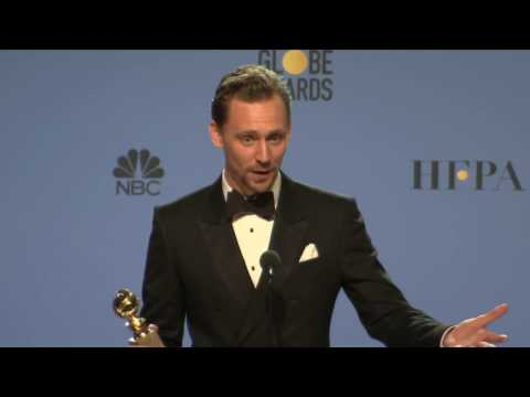 Thumbnail: Golden Globes 2017 Tom Hiddleston Backstage Interview