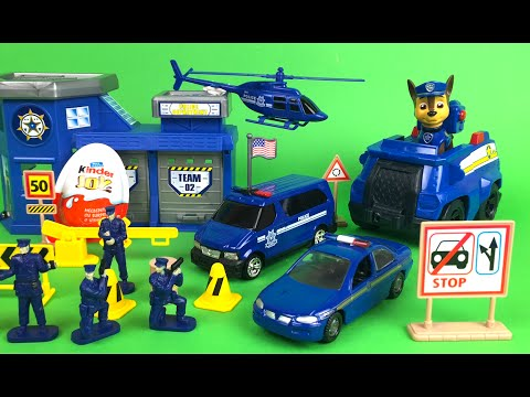 Motor Max Police Station - Project Truck Mechanism Zone -  Mighty Machines at Folding Construction