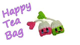 Happy Tea Bag Tutorial by feelinspiffy (Rainbow Loom)