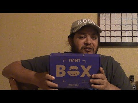 The Unboxing Zone- Shirt Punch and TMNT Box