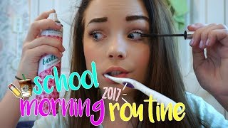 School Morning Routine 2017! thumbnail