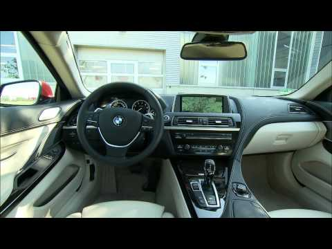 2012 BMW 6 Series Coupe Interior
