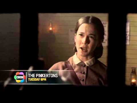 "The Pinkertons - Series Trailer - ""The Hero of Liberty Group"" on CHCH"