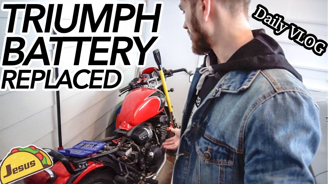 Daily Vlog Thunderbird Sport Battery Replacement Youtube