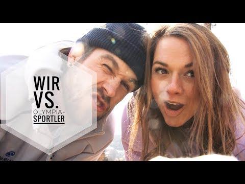 Jerry und ich battlen Olympia-Athleten :D