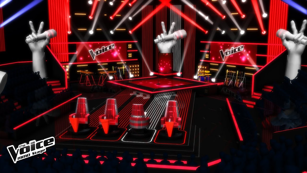 Mmd Stage The Voice The Blinds Auditions V 2 Youtube