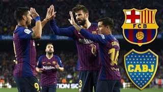 Barcelona vs Boca Juniors, Joan Gamper Trophy 2018 - MATCH PREVIEW