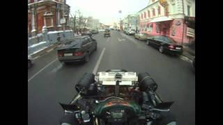 На квадроциклах по городу. Версия 2)