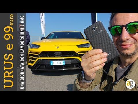 La prova di LAMBORGHINI URUS e lo smartphone da 99 EURO!