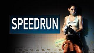 Portal 2 Speed Run (1440P) - The Courtesy Call - Portal Gun - Can you beat me? ;) - 0:36.50