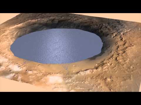 Inside Gale Crater on Mars