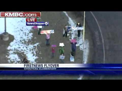 FirstNews Flyover: Chouteau Elementary School
