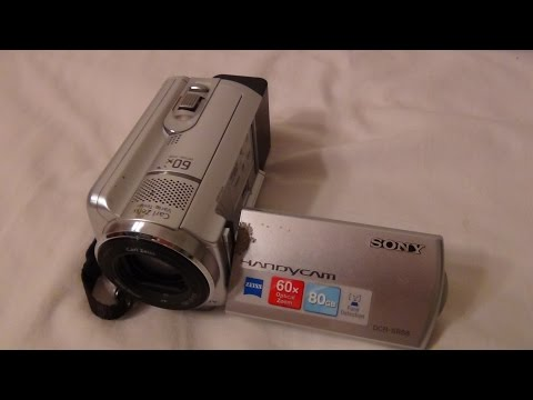 2010 Sony Handycam DCR SR68 Review And Test