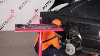 Zamenjavo Drzalo, vlezajenje stabilizatorja BMW 3 SERIES: navodila za uporabo