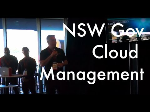 NSW Government Cloud Management and Governance