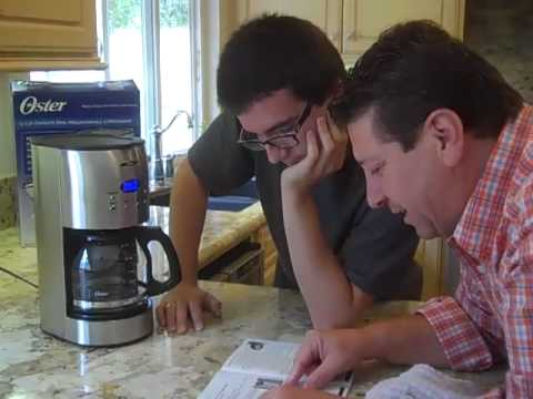 Oster Coffee Maker Stopped Working : Oster Coffee Maker Review 12-cup with Reuseable Filter Model - YouTube
