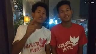 Membedakan Si Kembar Di Timnas Indonesia U-16