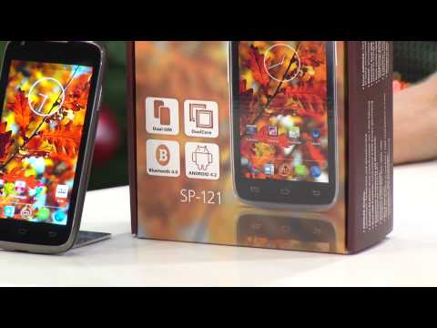 """simvalley MOBILE Dual-SIM-Smartphone SP-121 DualCore 4.0"""", Android 4.2"""