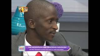 Talk Central: One on one with the hilarious Njugush