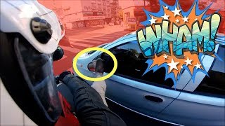 BEST OF MOTORCYCLE MIRROR SMASHING 2018 PART 3