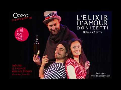 L'Elixir d'amour - Donizetti - Opéra Clandestin