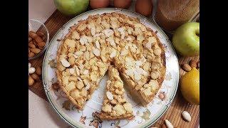 Фантастический торт с яблочным суфле