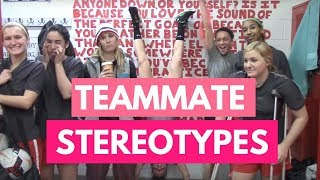 What Teammate Stereotype Are You?