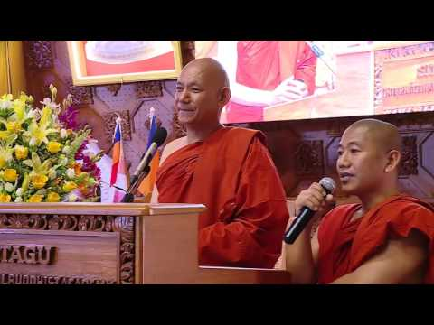 Ven. Bhikkhu Sanghasena's Speech at Higher Ordination Ceremony in Myanmar