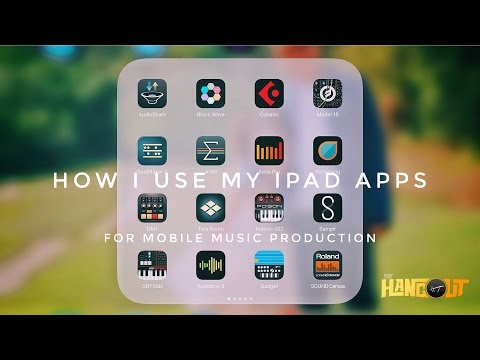 How I Use iPad Apps for Mobile Music Production (GH5) - Henny'z Hangout Episode 007