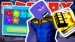 THANOS SCAMS *NEW* SECRET INFINITY PETS TO SUMMON SECRET *NEW* PET!! IN ROBLOX BUBBLEGUM SIMULATOR!!