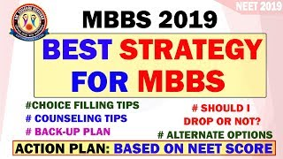 NEET 2019: MBBS Admission Strategy on NEET Score | MBBS Counseling Process