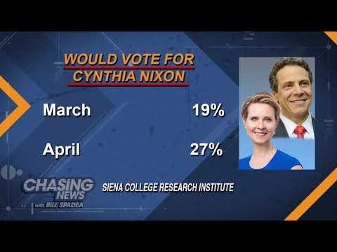 Cynthia Nixon gains ground against Governor Cuomo