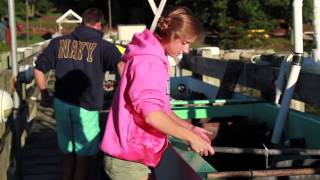 Oyster Farming at Roger Williams University