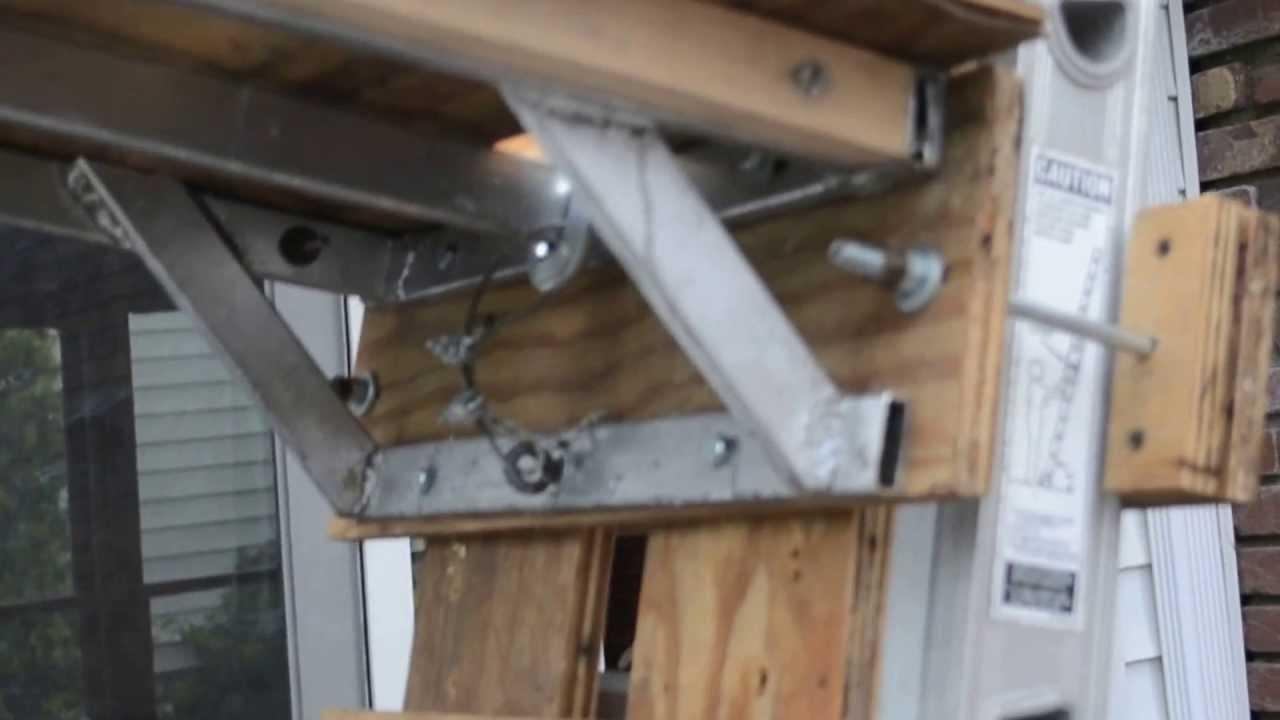 Roofing Shingle Lift Hoist Elevator  YouTube