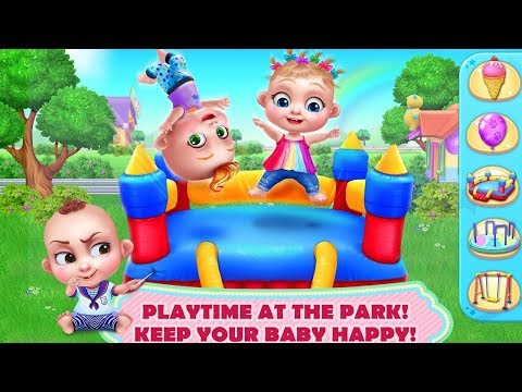 Baby Boss Care Doctor, Bath Time, Dress Up, Game Cartoon for Kids, Learn Colors