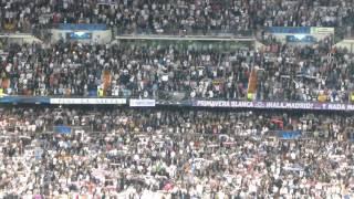 Himno del Real Madrid. Real Madrid - Atlético de Madrid (14/15). Copa de Europa.