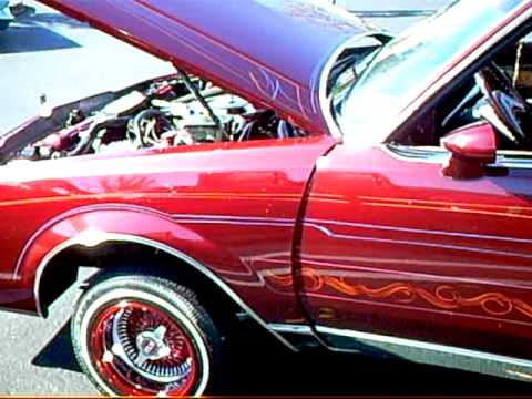 Jerry's UCE Candy Regal Lowrider Car - YouTube