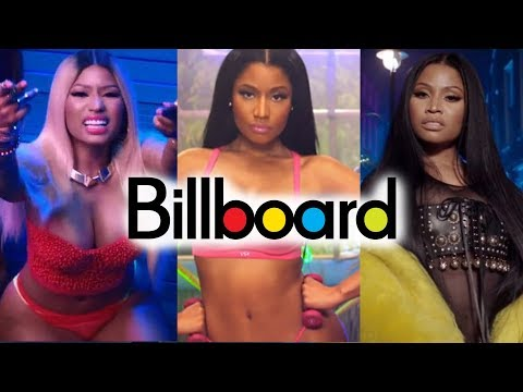 Nicki Minaj - Billboard Chart History Mp3