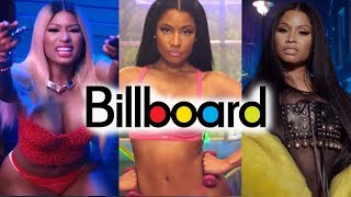Nicki Minaj - Billboard Chart History
