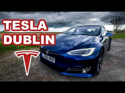Tesla's Dublin Store - Model S and Model X Test Drives in Ireland