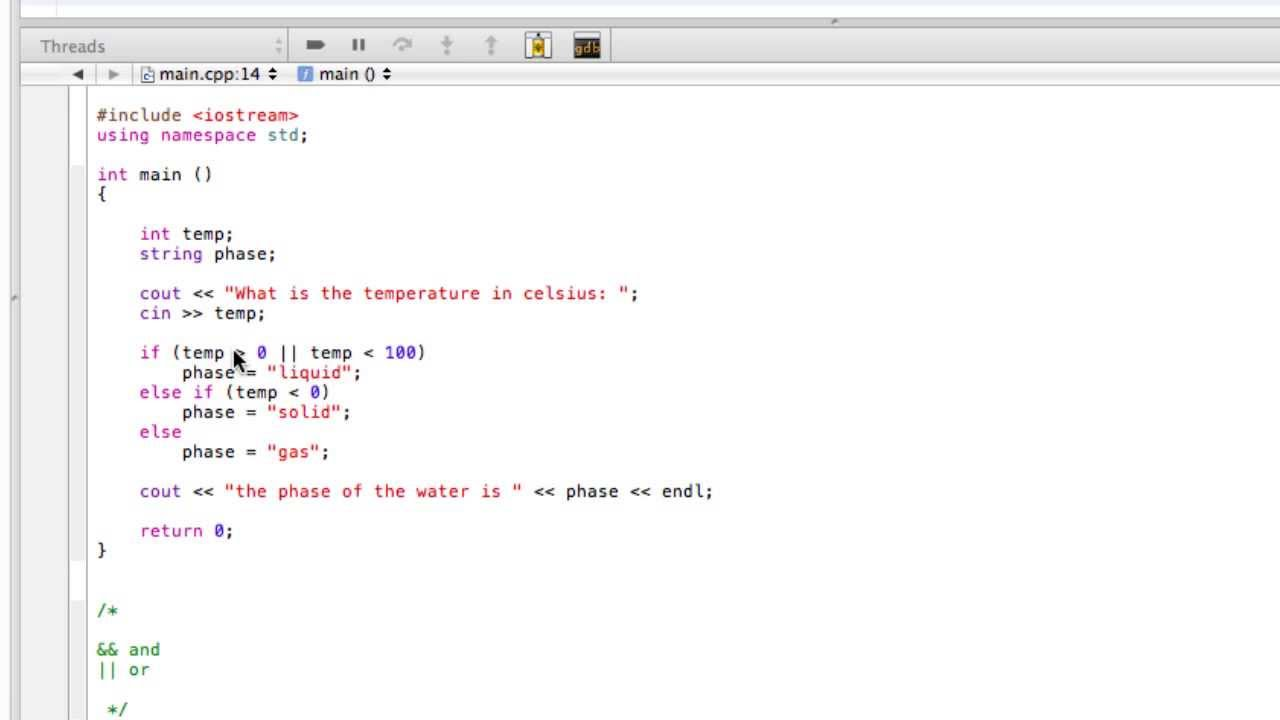 Boolean operators (c++ programming tutorial) youtube.