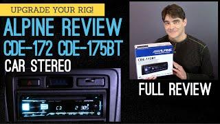 Alpine Full Review CDE-172BT &…