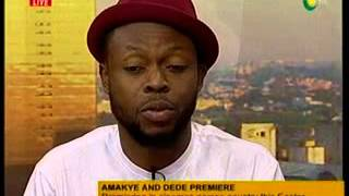 NewDay - Entertainment - With Kalybos on his Amakye & Dede movie premiere  - 22/3/2016